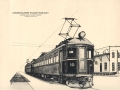 Sketch of the L&PS electrified train at Colborne Station, London