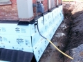 Insulating the foundation
