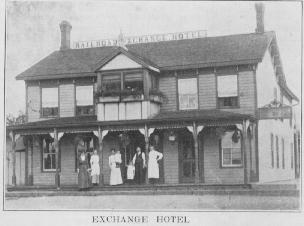 Exchange Hotel in 1913